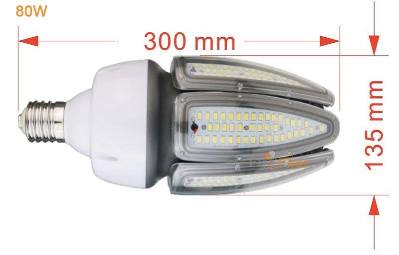 Lampadina LED CORN da 80W
