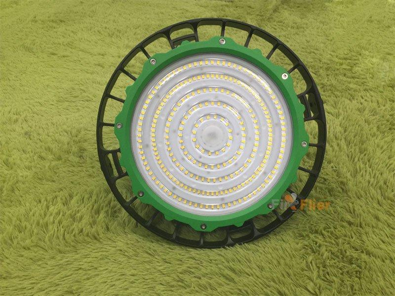 green ring ufo led high bay light