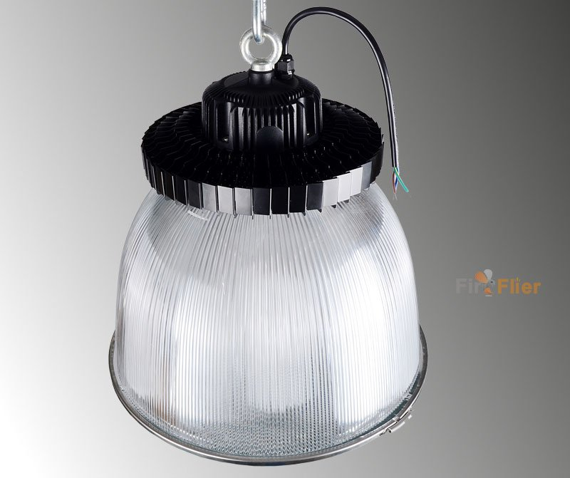 Led High Bay Prismatic Reflector: UFO LED High Bay Lamp With PC Reflector/Diffuser
