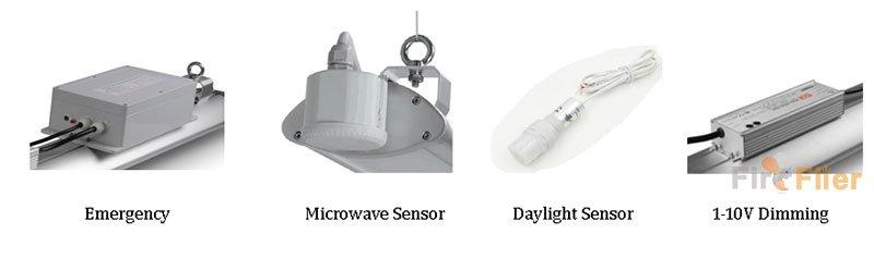 funzioni per luce ad alta baia a led lineare