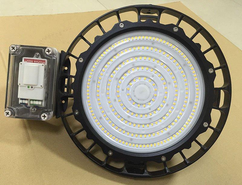 ufo led high bay lamp with sensor