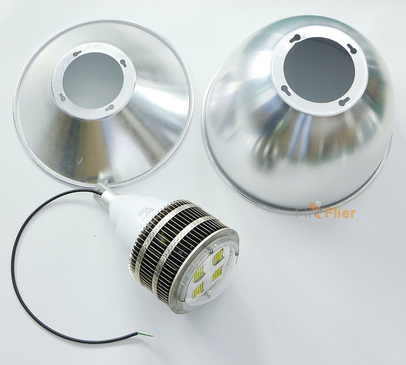 E40 Led High Bay Lamp with 45° or 120° reflector