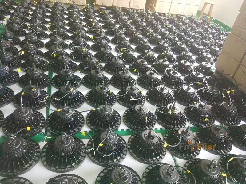 ufo led high bay lights production