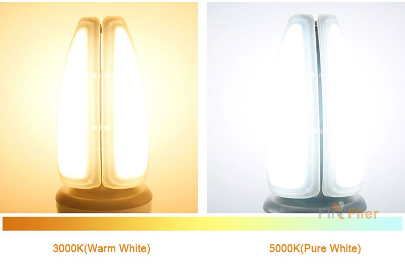Color Temperature of IP65 LED Corn Bulb 10W