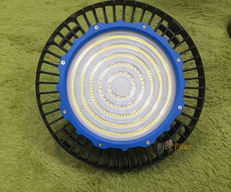 anello blu ufo led ad alta luce della baia