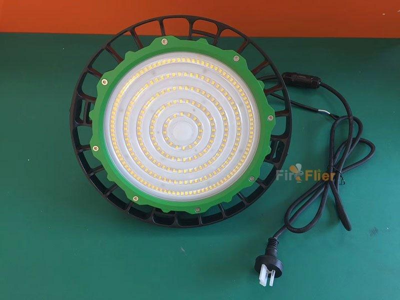 anello verde ufo led ad alta luce della baia