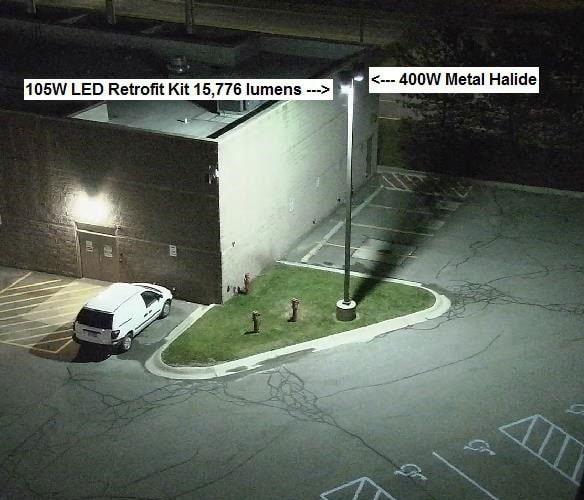 Metal Halide Lamp Power Usage: LED Vs Metal Halide Lighting