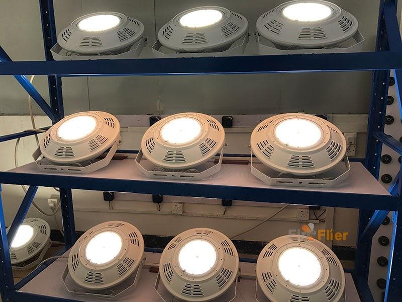 Test di invecchiamento della luce ad alta baia a LED UFO 400W