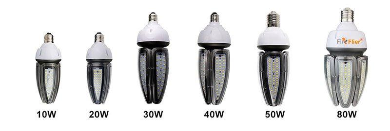 LED Corn izzó vízálló sorozat
