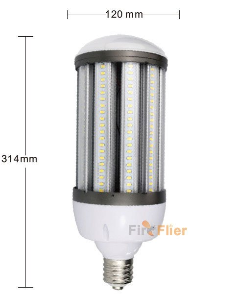 IP64 LED Corn Light 80W size