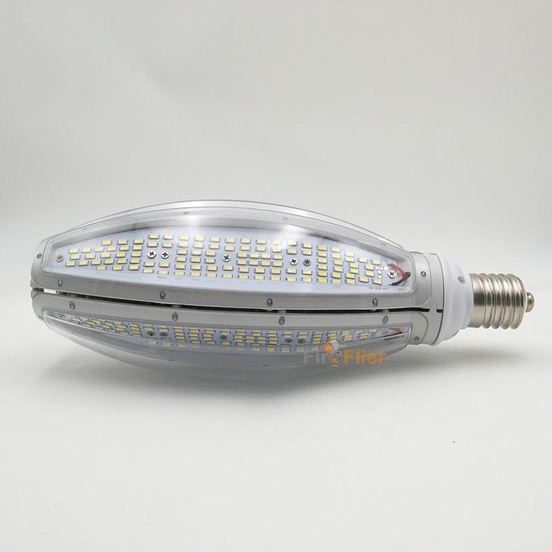 Lampadina LED Corn IP65 150w con copertura trasparente