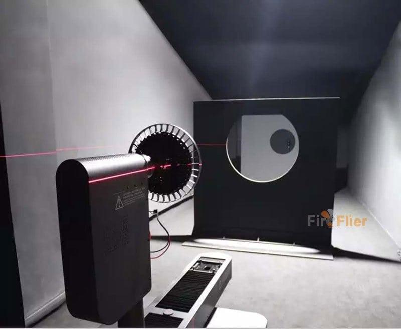 Test fotometrico UFO LED High Bay Light