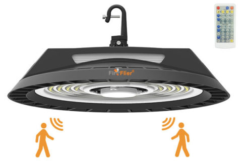 100W LED High Bay Light with motion sensor