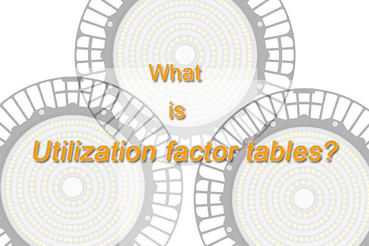 utilization factor tables