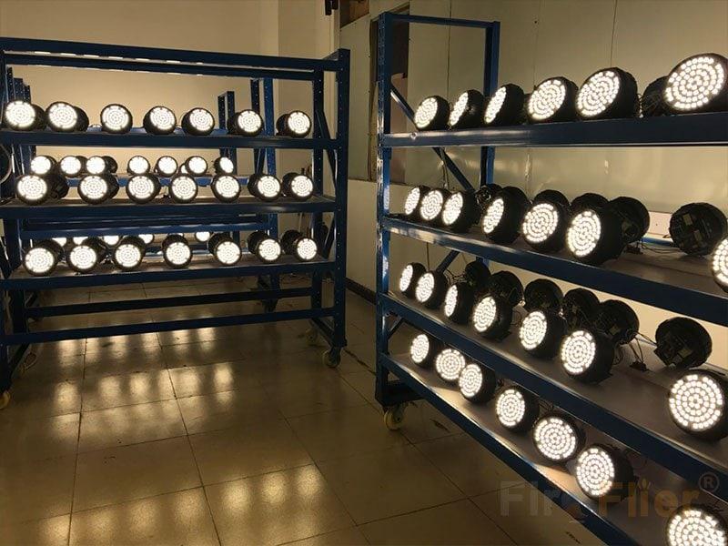 E40 LED High Bay Lamp aging test