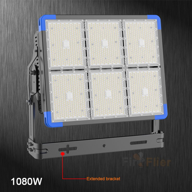 LED Stadium Light 1080W kiterjesztett konzol