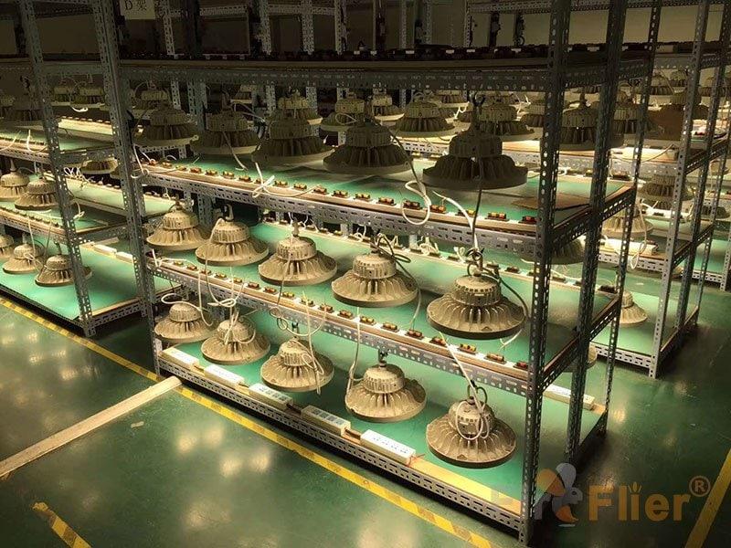 white finish UFO LED High Bay Light