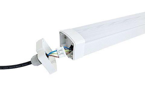 Apparecchio LED a tenuta di vapore 2 piedi