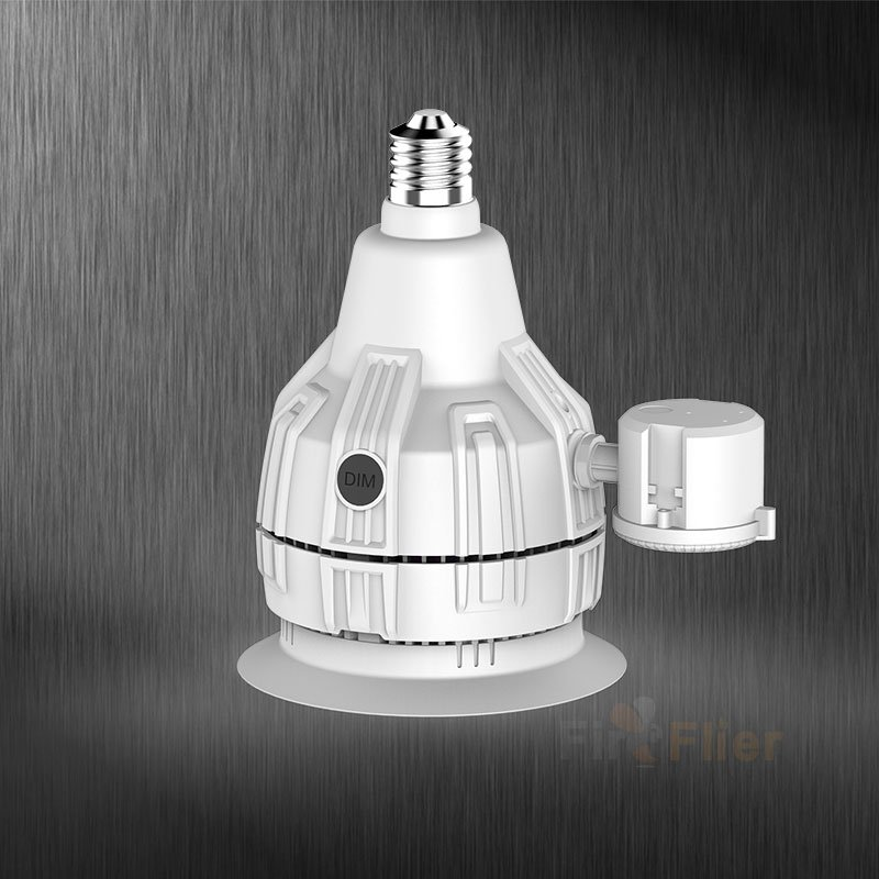 200W LED Retrofit Bulb with sensor
