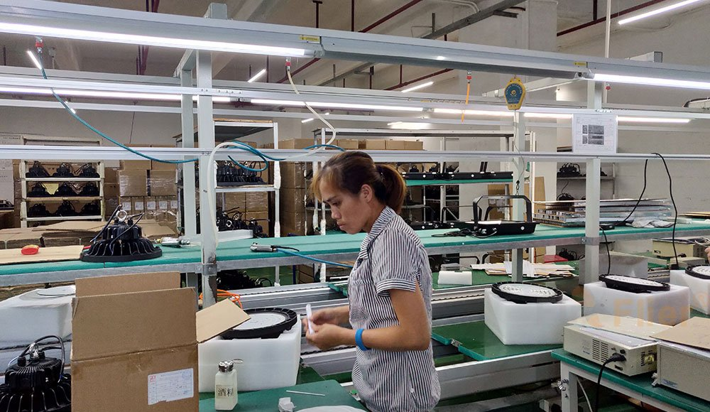 Fireflier lighting LED High Bay production factory