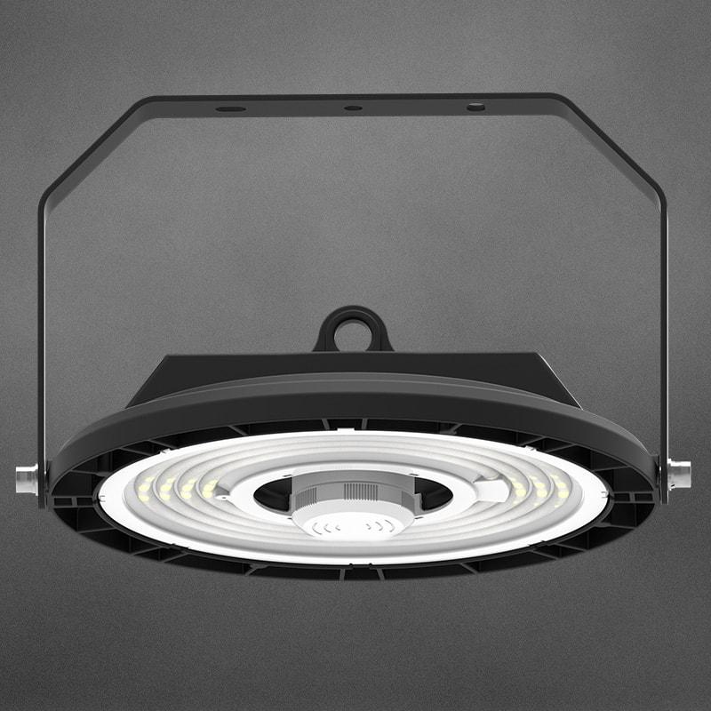 UFO LED High Bay Light con staffa a U.
