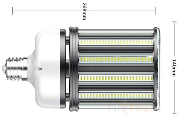 Ampoule de maïs à DEL non scintillante 120W