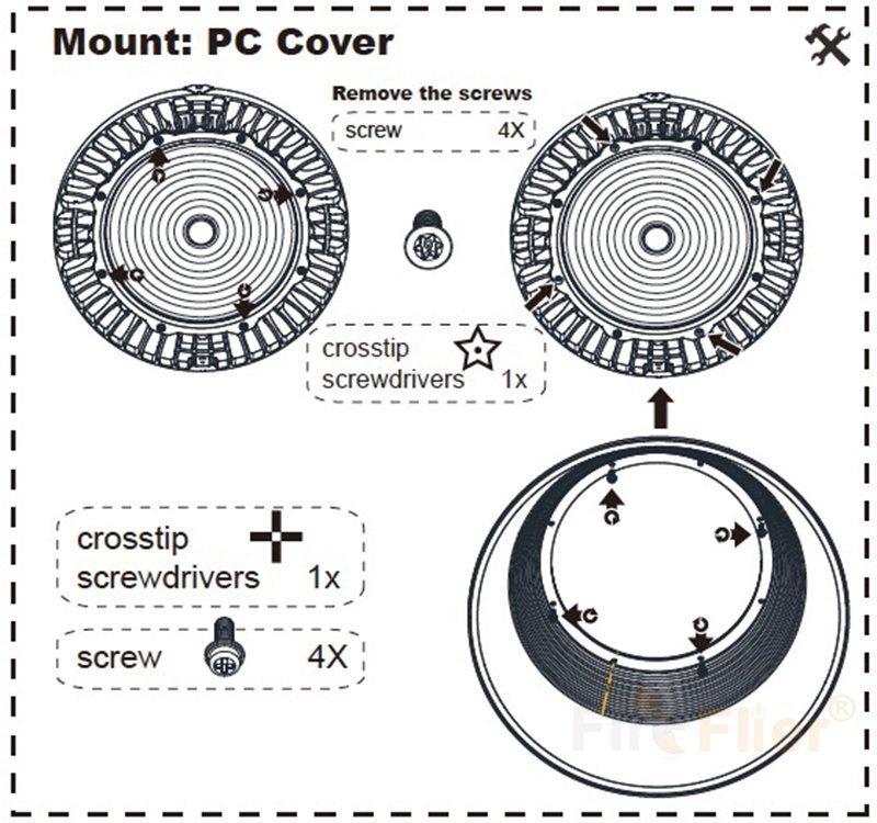 Installazione a campata alta del diffusore in PC