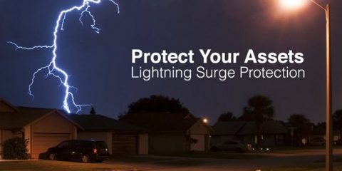 surge protection device lighting led