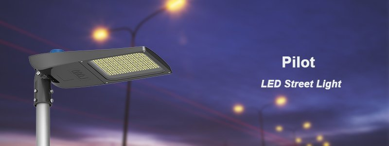 Pilot LED Street Light banner