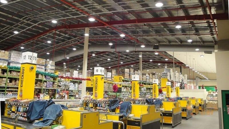 Aplicación de LED Warehouse Light 100W
