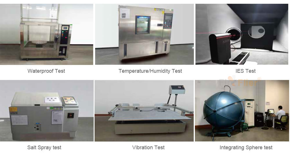 high bay testing equipment
