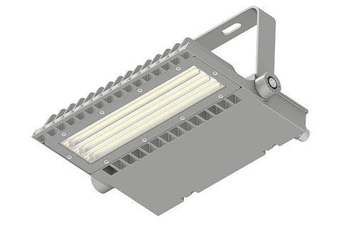 Asymmetric LED Area Light 100w