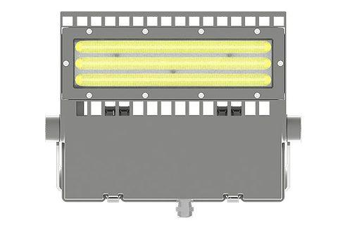 Asymetryczne oświetlenie obszarowe LED 150w