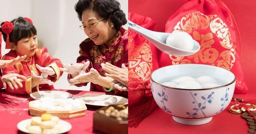 making tangyuan