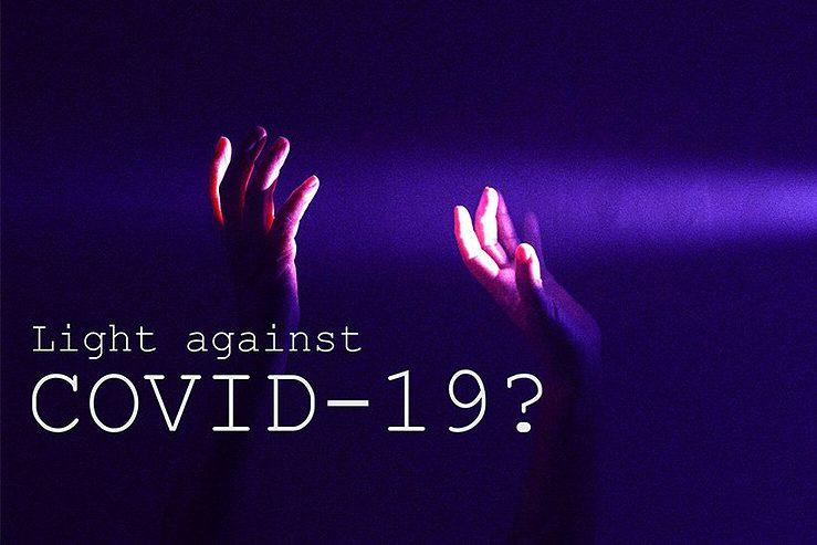 luce contro COVID-19