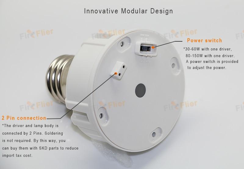 2 pin collegare la lampadina del mais a LED