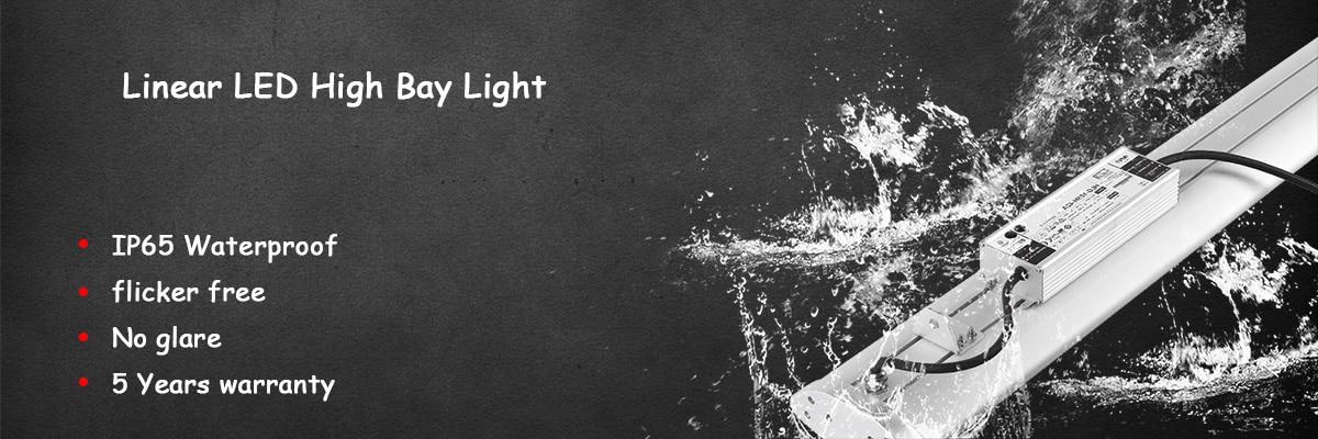 Angel LED linear high bay light banner