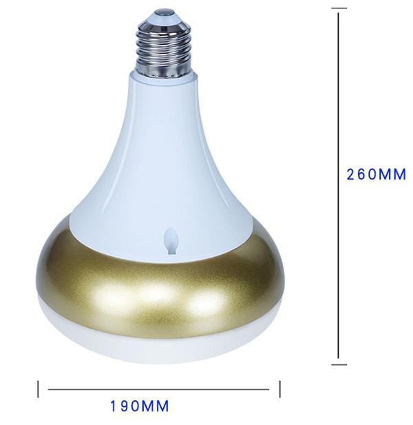 Lampadina LED E40 da 72W