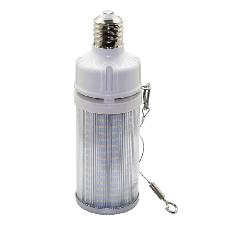 Lampadina LED a pannocchia con corda di sicurezza