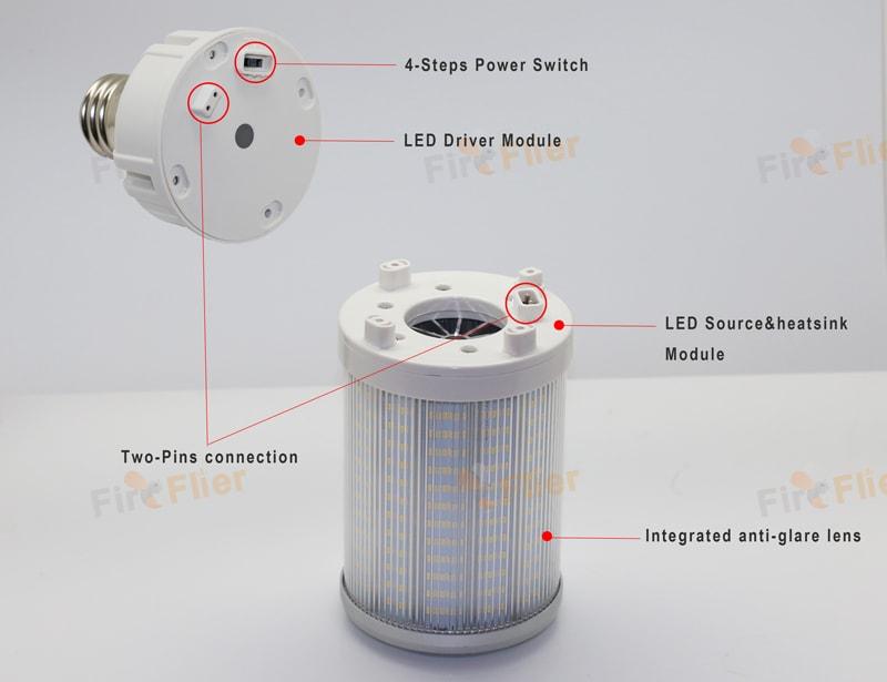Caratteristiche della lampadina Genesis IP65 LED Corn