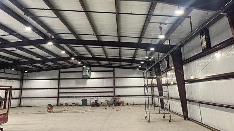 Luminaria LED 100W High Bay para taller