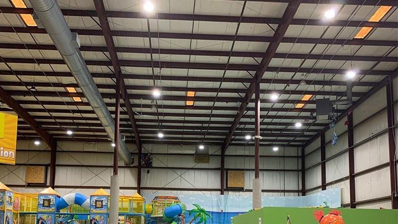 Lámpara LED UFO High Bay para parque de atracciones