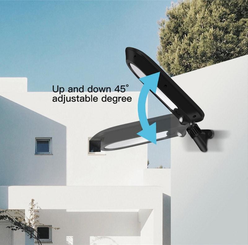 applique solare regolabile