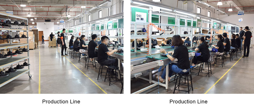 línea de producción fireflier