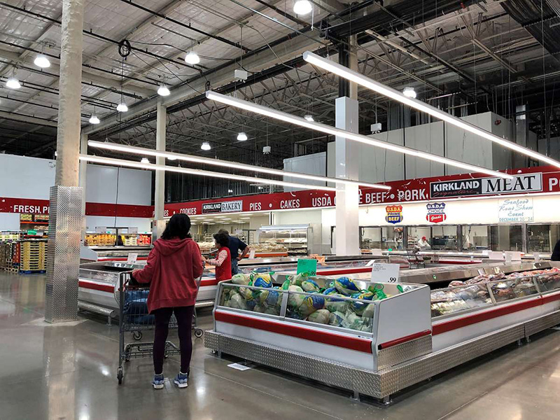 Riflettore in PC ad alta luce per centri commerciali