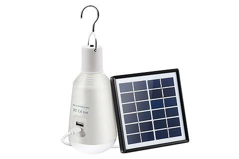 lampadina LED solare ricaricabile