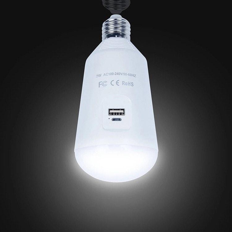 Lampadina LED di emergenza E27