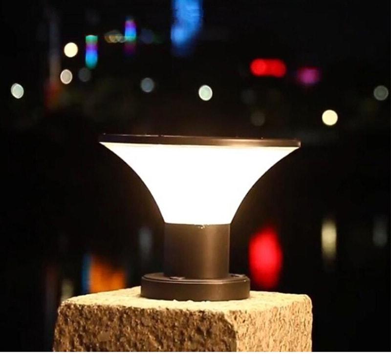 solar powered post top lighting