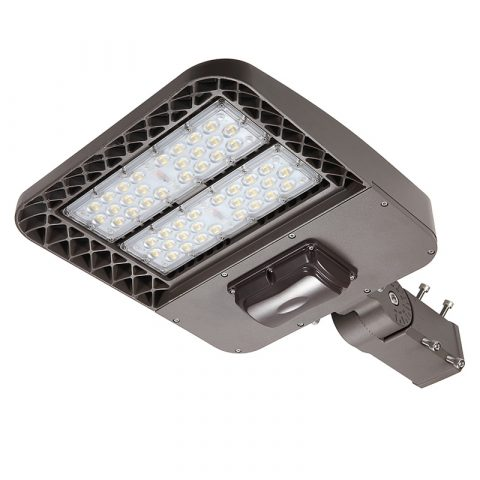 luz de área led 100w 150w