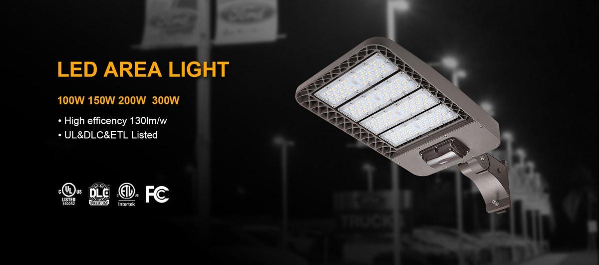 LED Area Light 100w 150w banner